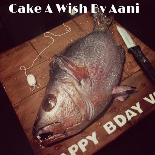 Fish Themed Cake by Aani de antosa