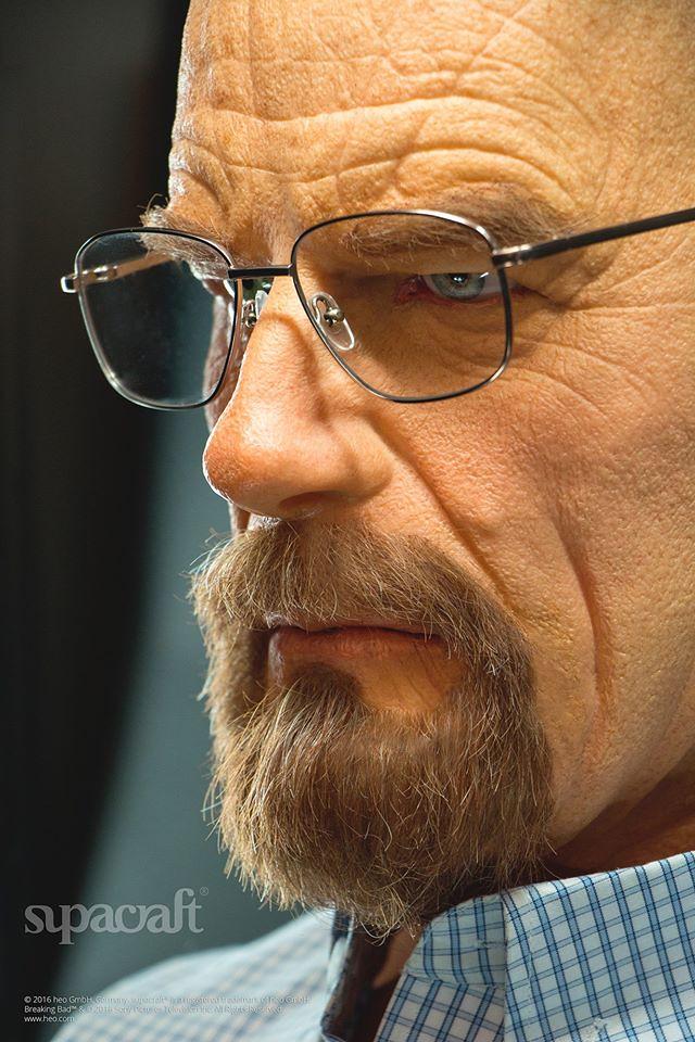 supacraft Studios【絕命毒師:瓦特.懷特】Walter White 真人比例半身胸像