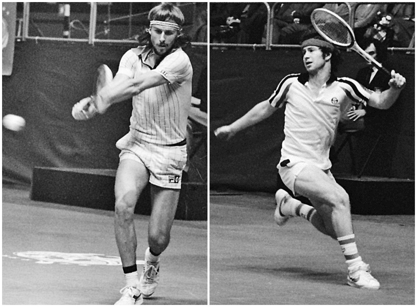 Björn Borg (1979) and John McEnroe (1979)