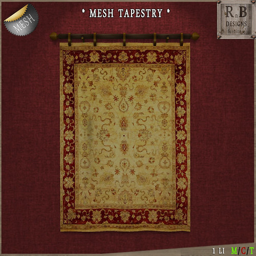 NEW & PROMO ! *RnB* Mesh Moroccan Tapestry 2