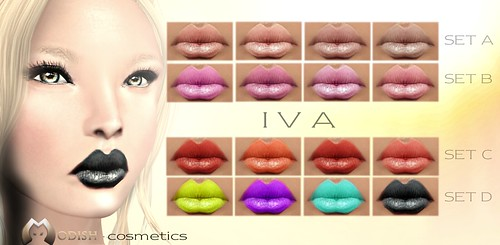 Iva-lipsticks SETs @ 100 Block Fair by ::Modish::