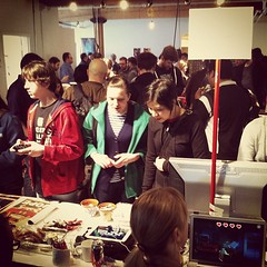 Still going strong at #BitBazaar! We're open til 8 so come by after #tcaf closes!
