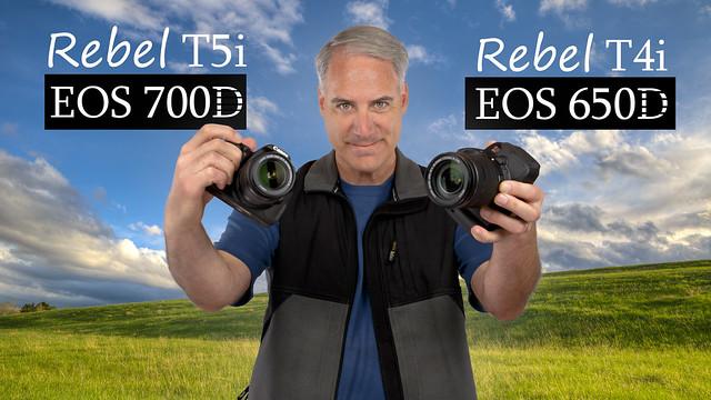 Canon T5i 700D vs. T4i 650D