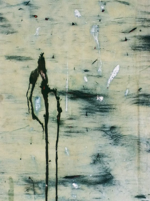 Surface Abstractions: Paint on Wood 1 (Easthampton)