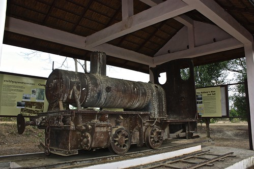 old french locomotive on Don Khon