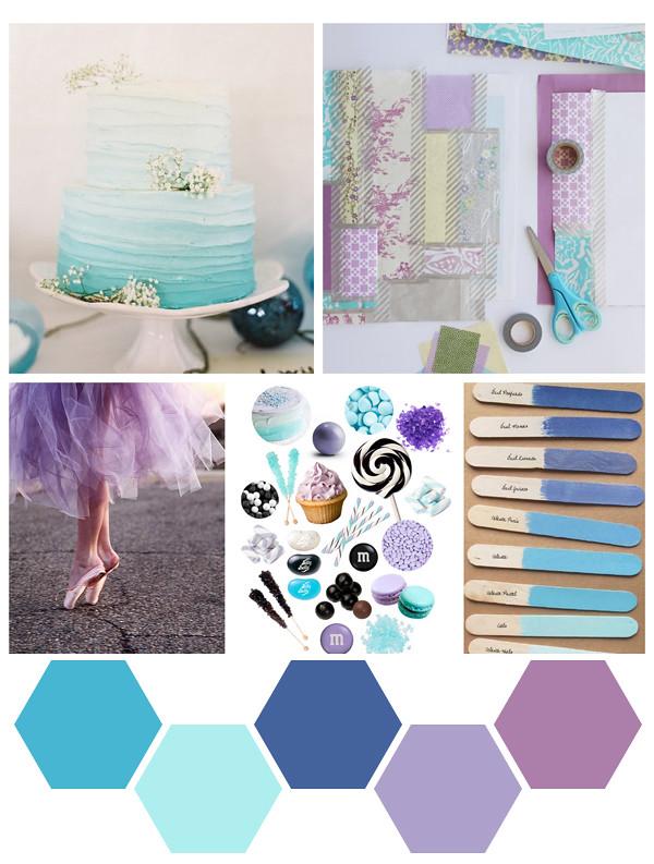 indigo + violet