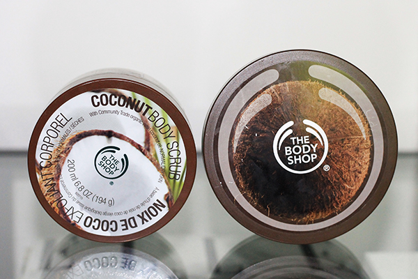 The Body Shop Coconut Range Featuring The Body Shop Coconut Body Scrub and Body Butter