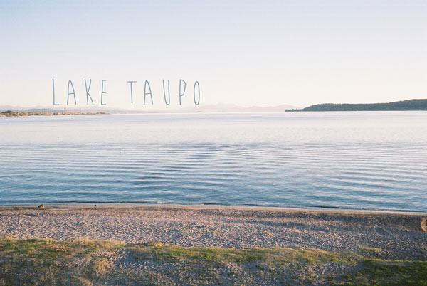 New Zealand: Lake Taupo 1