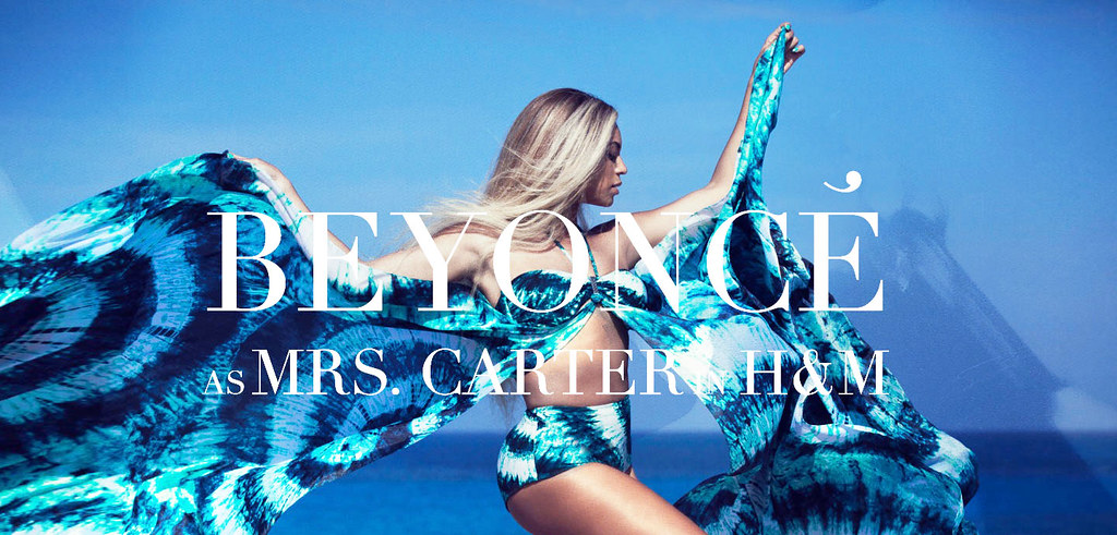 Beyonce h&m