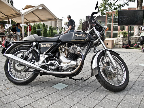 Norton 850 Commando motorcycle