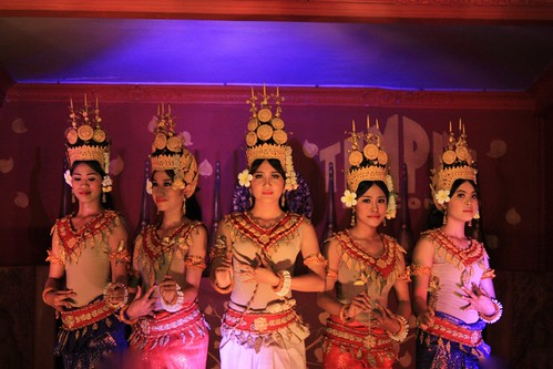 cultural dance at Temple Balcony