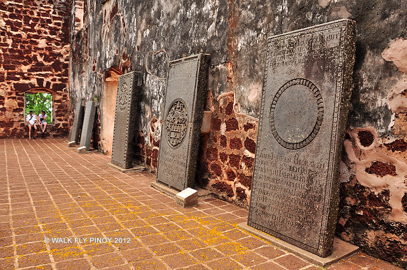 Ruins of St. Paul's Church, Malacca, Malaysia