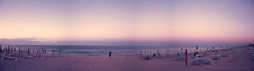 trip sunset sea sky italy panorama beach girl reflex sand nikon purple dslr numana appleaperture fav10 purplesunset skyporn d5200 nikond5200