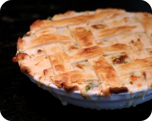 Lattice Chicken Pot Pie