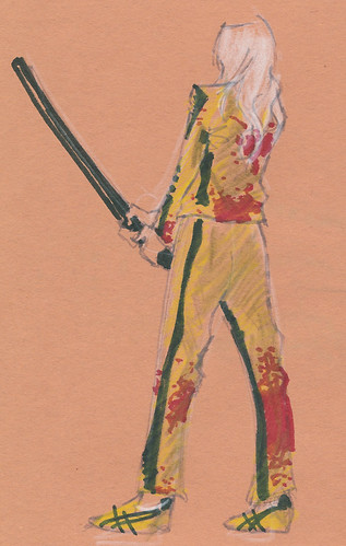 Dr. Sketchy's : Kill Bill : Bloody
