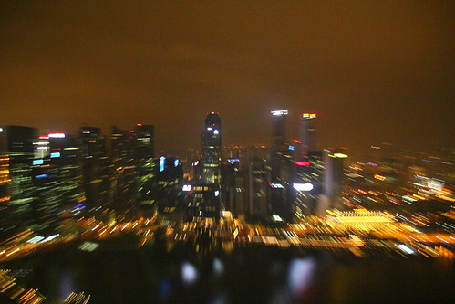 Views from Marina Bay Sands