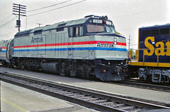 Amtrak F40PH #231 Brings A San Diegan Into Fullerton