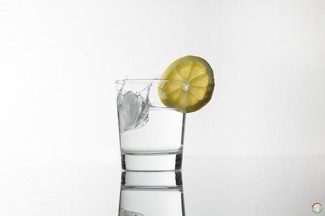 Erfischendes Wasser an heißen Tagen - Variante 2