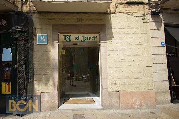El jard passaporte bcn for Hotel jardi barcelona