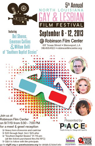 North Louisiana Gay & Lesbian Film Festival by trudeau