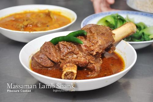 Massaman Lamb Shank