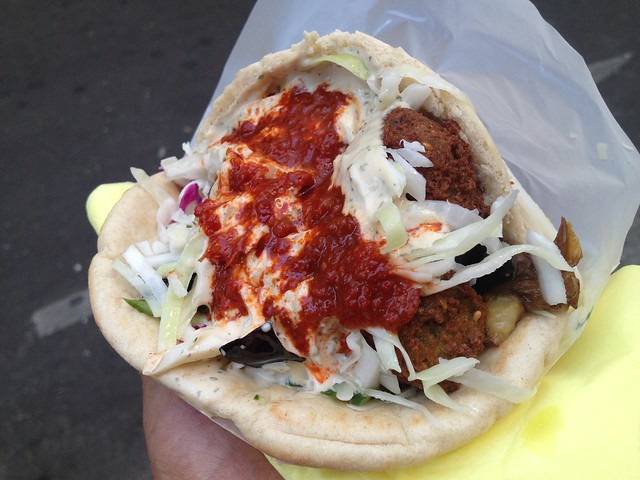 Falafel sandwich - L'As du Fallafel