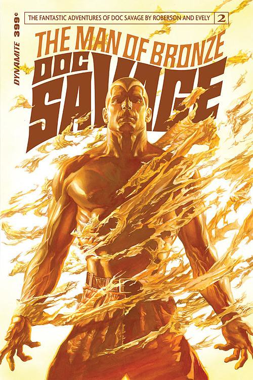 Doc Savage 2 2013 Dynamite cover by Alex Ross
