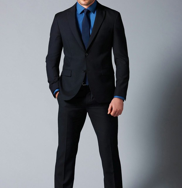 Black Suit and Blue Shirt | Flickr - Photo Sharing!