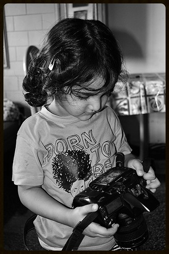 Marziya Shakir 3 And A Half Year Old Street Photographer by firoze shakir photographerno1