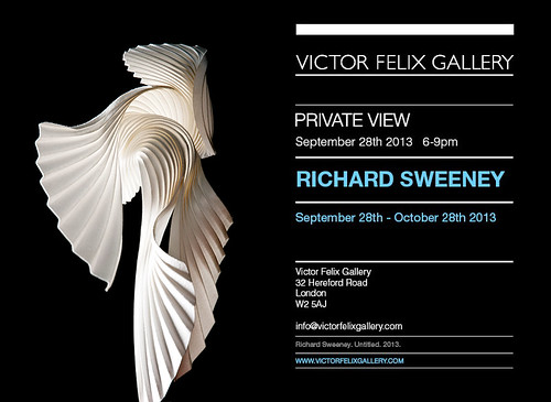 Solo show at Victor Felix Gallery by Richard Sweeney