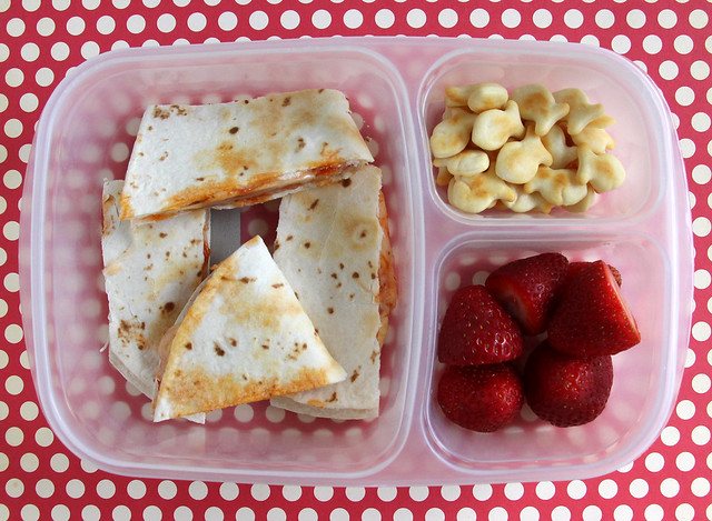 4th Grader Pizza-dilla Bento #800