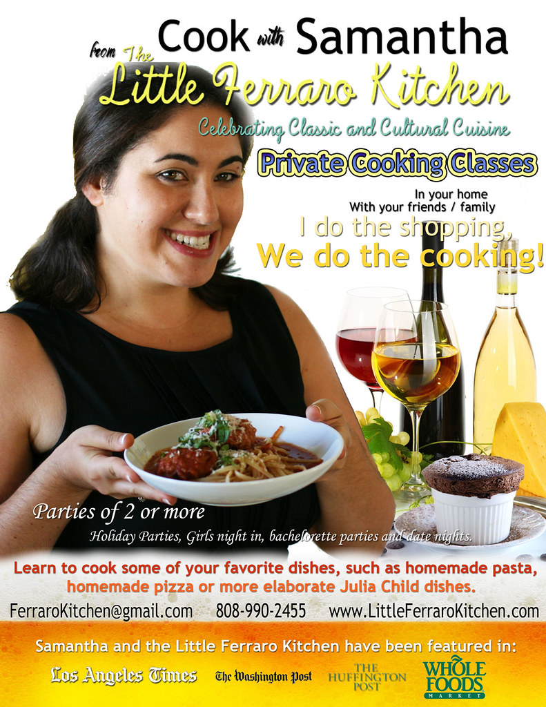 The Little Ferraro Kitchen Cooking Classes