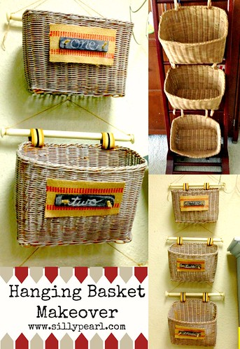 Hanging Basket Makeover -- The Silly Pearl