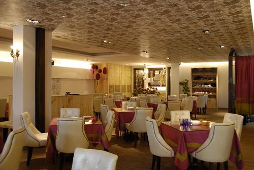 餐廳設計-義大利麵餐廳內部圖