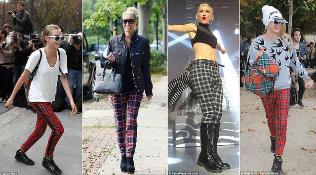 How to wear plaid/tartan trend this season | FashionCadet