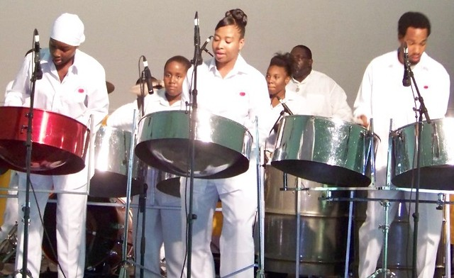 Sesame Flyers Youth Steel Orchestra.