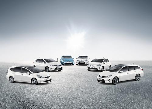Gama Híbrida Toyota 2013