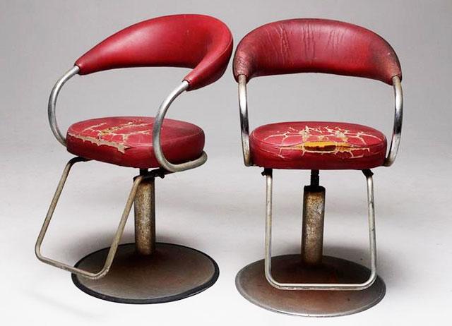 vintage saloon stool