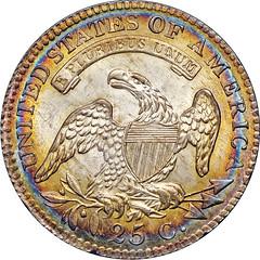 1815 B-1 Quarter Dollar reverse