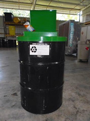 Waste Vegetable Oil Collection Drum