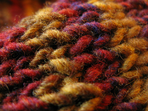 Knitting: Autumn Stripes