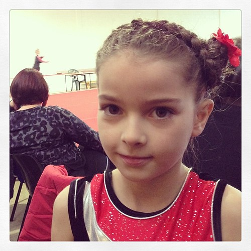 A little #footworksgymnastics  girl looking fab :)