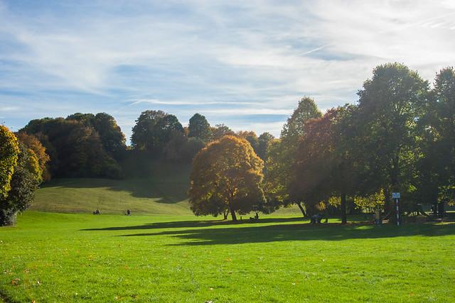 Luitpoldpark, Autumn