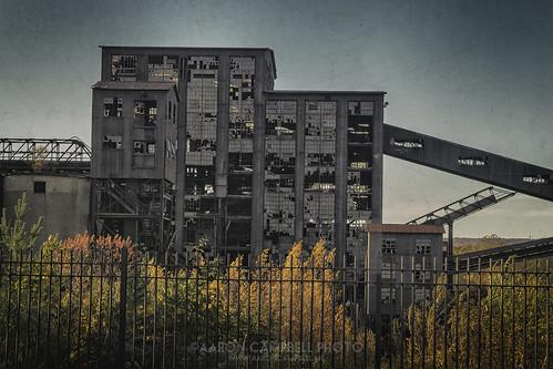 Huber Coal Breaker (detail #1), 2013.11.01