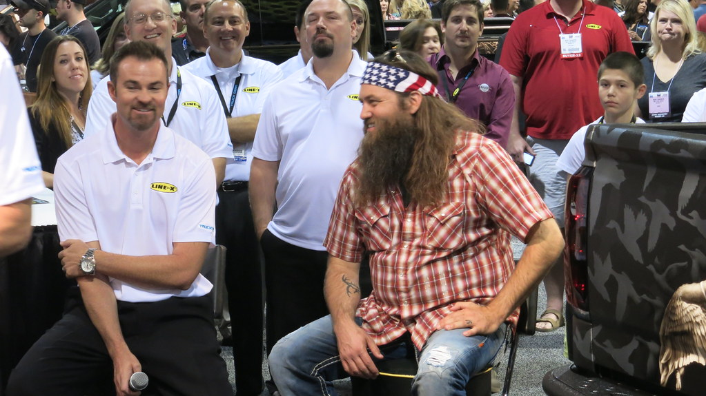 SEMA Show 2013 Day 3 - Willie Robertson from Duck Dynasty