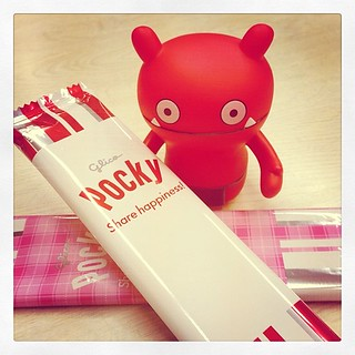 "#uglydoll  11.11 is the day of ""pocky""."