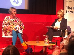 Grayson Perry making his first Reith lecture at Tate