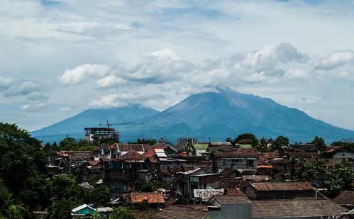 urban mountain indonesia landscape nikon yogyakarta merapi merbabu