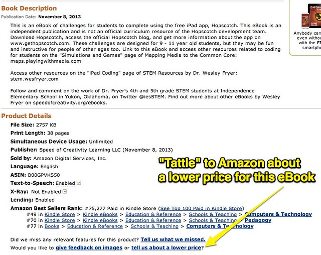 Tattle to Amazon