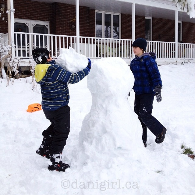More snowman fun! #latergram